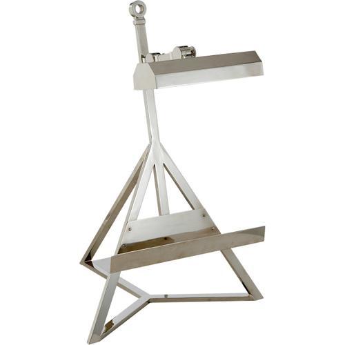Alexa Hampton Estelle 22 inch 40.00 watt Polished Nickel Task Table Lamp Portable Light