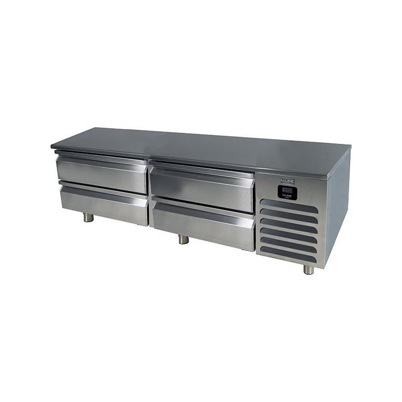 """72"""" Refrigerator Base With Stainless Solid Finish (115v/60 Hz Volts /60 Hz Hz)"""