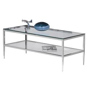 Albany Rectangular Cocktail Table With Bottom Shelf