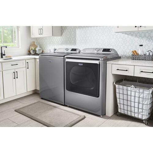 Smart Capable Top Load Gas Dryer with Extra Power Button - 8.8 cu. ft.