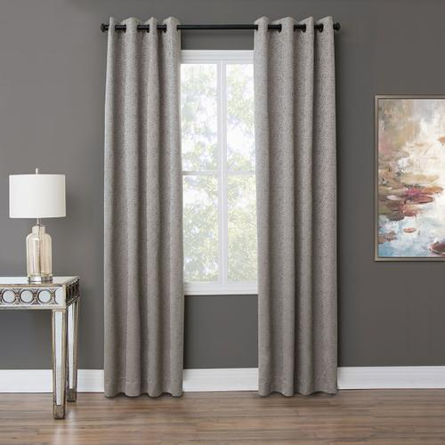 Amini - Aspen 50x84 Grommet Top Panel Weighted Corners Cement