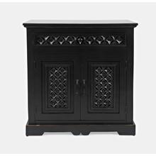 "Decker 70"" Console-antique Black"