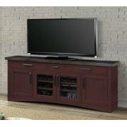AMERICANA MODERN - CRANBERRY 76 in. TV Console Product Image