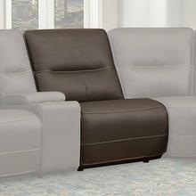 SPARTACUS - CHOCOLATE Armless Chair