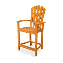 Tangerine Palm Coast Counter Chair
