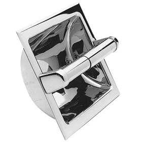 Gun Metal Recessed Toilet Tissue Holder