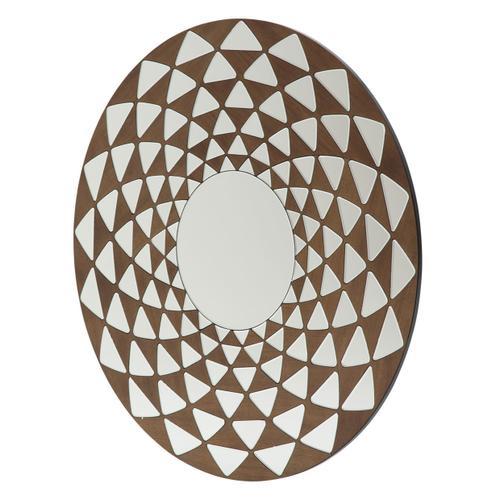 Amini - Round Wall Mirror 8585