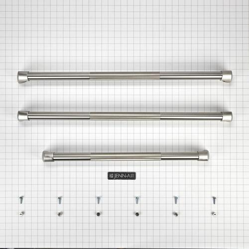 KitchenAid - French Door Bottom-Mount Refrigerator Pro Style Handle Kit - Other