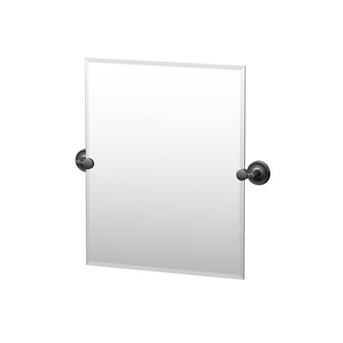 Designer II Rectangle Mirror in Matte Black