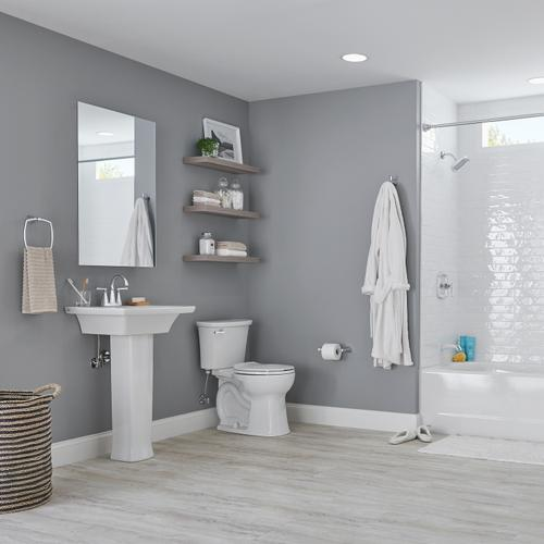 American Standard - Edgemere Right Height Round Front Toilet  1.28 GPF  American Standard - White