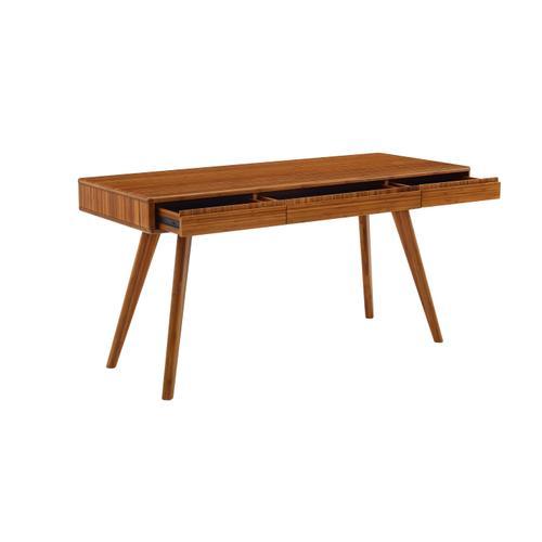 Greenington Fine Bamboo Furniture - Currant Writing Desk - Amber