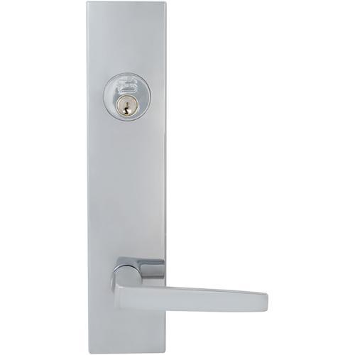 Product Image - Exterior Modern Deadbolt Entrance Lever Lockset in (US26 Polished Chrome Plated)