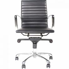See Details - Omega Swivel Office Chair Low Back Black