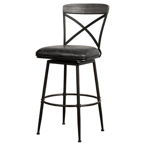 Decker Commercial Grade Swivel Bar Height Stool