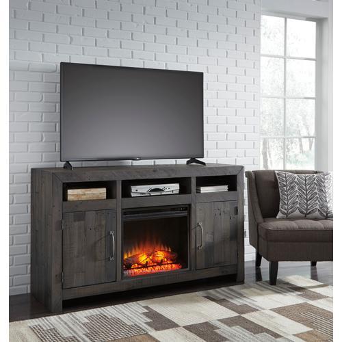 Ashley Furniture - Mayflyn - Charcoal 2 Piece Entertainment Set
