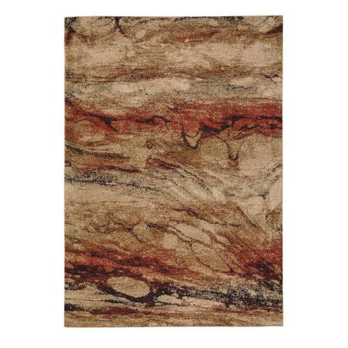 """Mineral-Marble Agate Multi - Rectangle - 3'11"""" x 5'6"""""""