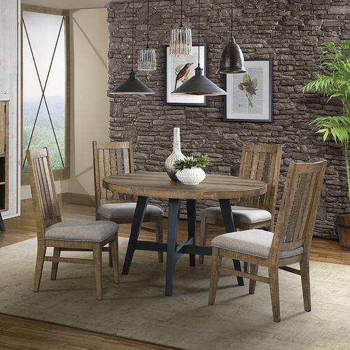 Intercon Furniture - Urban Rustic Round Dining Table