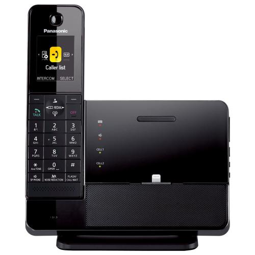 Link2Cell Digital Phone with iPhone5 Integration and Answering Machine KX-PRL260B 1 Cordless Handset