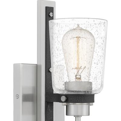 See Details - Axel Wall Sconce in Brushed Nickel