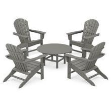 View Product - 5-Piece Conversation Group in Slate Grey