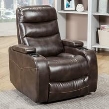See Details - GENESIS - TRUFFLE Power Home Theater Recliner