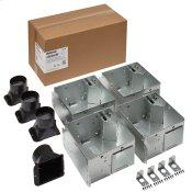 Broan Flex™ Series 110 CFM Bathroom Exhaust Ventilation Fan Finish Pack