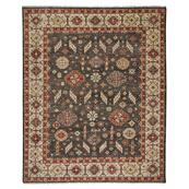 Charise-Mahal Dark Chocolate Hand Knotted Rugs