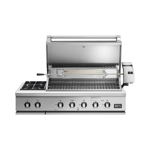 "48"" Grill With Integrated Side Burners, Natural Gas"