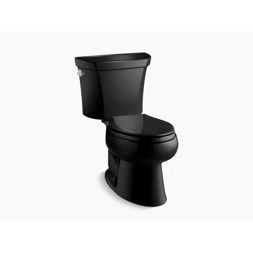 Kohler - Black Black Two-piece Elongated Dual-flush Toilet