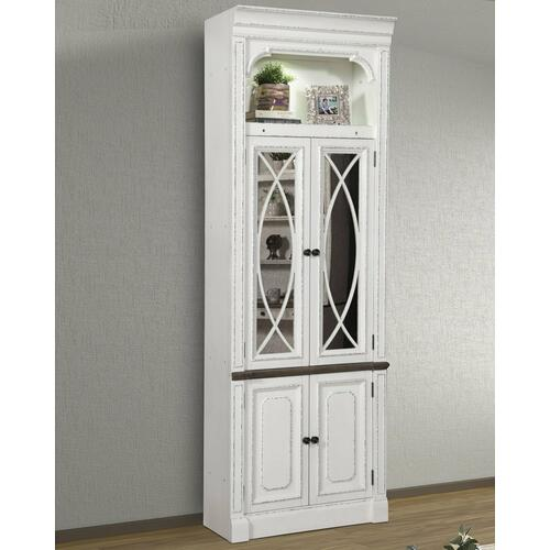 PROVENCE 32 in. Glass Door Cabinet