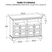 TS46D Custom TV Console Product Image