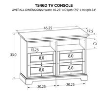 TS46D Custom TV Console