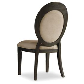 Dining Room Corsica Oval Back Side Chair - 2 per carton/price ea