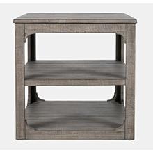 View Product - Westfield End Table - Weathered Grey