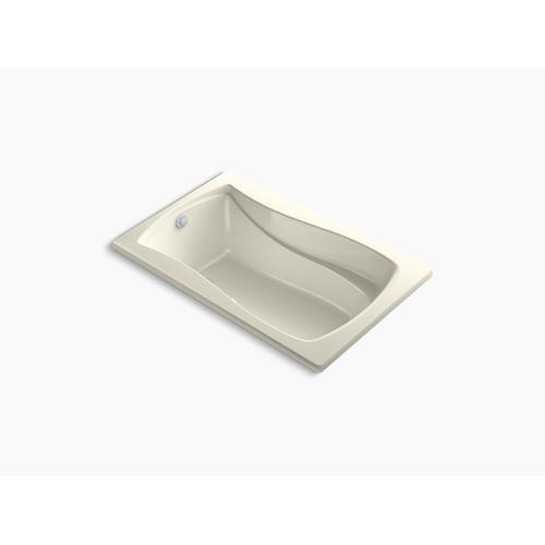 "Biscuit 60"" X 36"" Drop-in Heated Bubblemassage Air Bath"