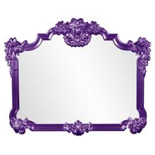 View Product - Avondale Mirror - Glossy Royal Purple