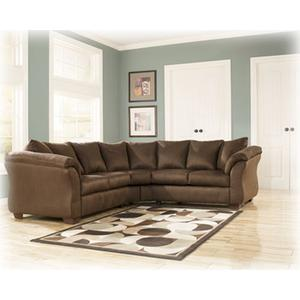 Double Loveseat Sectional