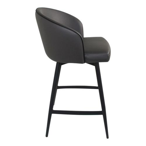 Moe's Home Collection - Webber Swivel Counter Stool Charcoal
