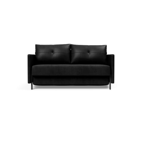 "CUBED 02 SOFA FRONT/MID SEAT, 55""X79""/CUBED 02 SOFA BACK & CUSHIONS, 55""X""79/CUBED DELUXE ARM RESTS, 1 SET/CUBED FULL SOFA LEGS FOR ARMS, MAT BLK"