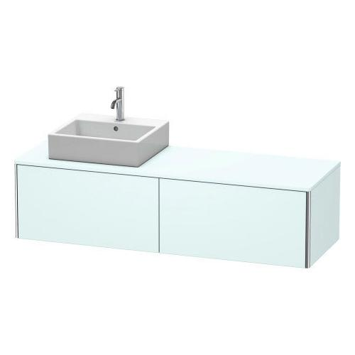 Duravit - Vanity Unit For Console Wall-mounted, Light Blue Matte (decor)