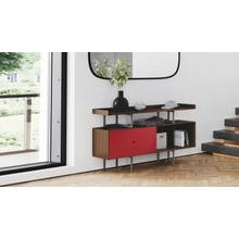 View Product - Margo 5211 Console in Toasted Walnut Cayenne