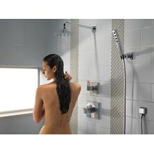 Chrome H 2 Okinetic ® Single-Setting Adjustable Wall Mount Hand Shower