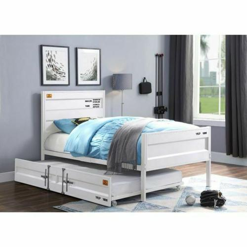 ACME Cargo Trundle (Twin) - 37882 - White