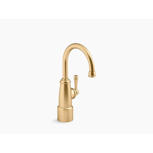 Vibrant Brushed Moderne Brass Beverage Faucet