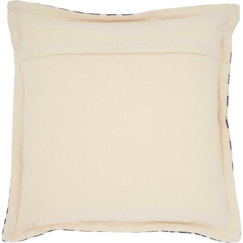 """Life Styles Dl559 Indigo 20"""" X 20"""" Throw Pillow"""