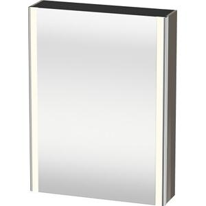 Mirror Cabinet, Flannel Gray High Gloss (lacquer)