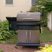 See Details - Deluxe Wood Pellet Grill and Smoker