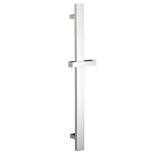 30 Inch Square Slide Bar - Polished Chrome