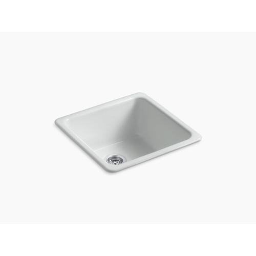 "Ice Grey 20-7/8"" X 20-7/8"" X 10"" Top-mount/undermount Single-bowl Kitchen Sink"
