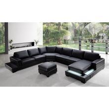 See Details - Divani Casa Ritz - Modern Leather Sectional Sofa Set